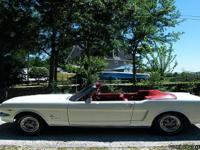 Make:  Ford Model:  Mustang Year:  1965