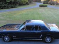 1965 COUPE. VIN 5F07C2999963. MILES READING 21428.