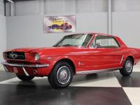 Stk#091 1965 Ford Mustang Painted Ragu Red with like
