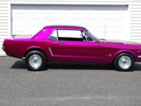 289 V8 House of Kolor Candy paint, reupholstered seats,