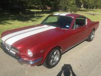 I am looking to sell my 1965 Mustang Fastback.  This is