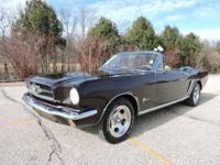 Check out this Gorgeous 1965 Ford Mustang Convertible