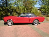 1965 Ford Mustang Convertible A-code V-8 Red. This car