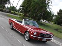 This 1965 - 1964 1/2 Mustang Convertible's previous
