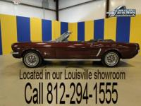1965 Ford Mustang Convertible with 7,000 miles since a