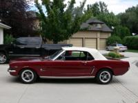 -Beautiful fully restored 1965 Mustang.  -Mechanical
