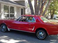 This 1965 Mustang coupe, in outstanding condition, is