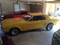 289, Automatic, New Yellow Paint, New Chrome In/Out,