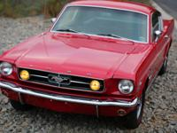 1965 ford mustang fastback c code. The car has already