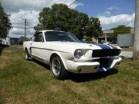 1965 Ford Mustang Fastback Shelby GT-350  He also added