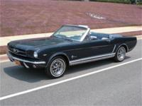Fabulous 1965 Mustang GT Convertible, documented