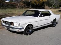MUSTANG 1965 GT COUPE, Very nice Wimbledon White