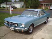 1965 Mustang facory GT car. Not a clone or Dealer GT.