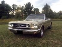 1965 Ford Mustang GT K-Code Convertible. 1965 Ford