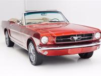 1965 Ford Mustang  1964 1/2 Ford Mustang Convertible,