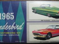 1965 FORD THUNDERBIRD CONVERTIBLE 3 in 1 CUSTOMIZING
