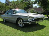 1965 Ford Thunderbird, stripped to bare metal and