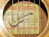 Spanish/Classical Guitar: 1965 Giannini, nylon string