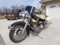 1965 Harley Davidson panhead.Motor and transmission