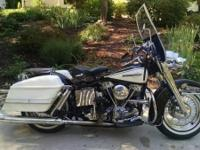 1965 Harley Davidson FLH Electra-Glide PanHead. All