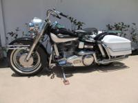 1965 Harley Davidson FLH PANHEAD1st year 12 volt and