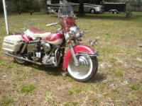 ALL ORIGINAL PAINT PANHEAD SHRINER BIKE AND YES IT