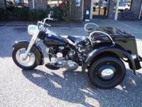 It has a 45 cubic inch flat head original engine with