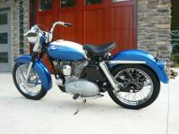 -- 1965 Harley-Davidson XLH HI FI Blue XL 900 is
