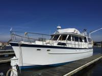 Better than a condo on the water! 1965 Hatteras Motor