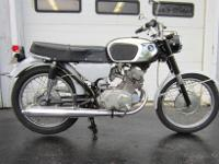 1965 Honda CB160 Sport. It was bought from the original
