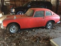 This sweet little rascal is a true barn find /