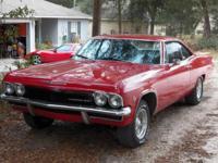 VIN: 166375S2831102 True SS 1965 Impala. 350 roller
