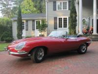 THIS JAGUAR XKE SERIES 1 ROADSTER IS ONE OF THE MOST
