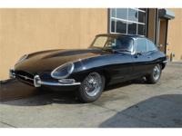 1965 Jaguar XKE Series I 2 seater coupe. 4.2 ltrs. Blue