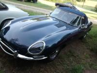 1965 Jaguar XKE. This is an exceptionally straight,