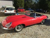 1965 Jaguar XKE Roadster.  -This car is just out of 20+