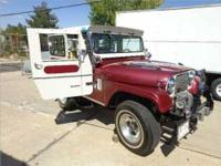 1965 Jeep CJ5 Small Block Ford V8, Original Owner,