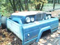 I have a 1965 jeep j20 pick up body and axles for sale.