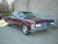 1965 Lincoln Continental.  -This is an above average