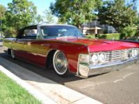 1965 Lincoln Continental Convertible Red. 1965 Lincoln