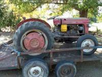 I have an 65 Massey Ferguson model 35 diesel tractor