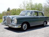 With just 82,000 km (50k original miles) This Mercedes
