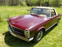 1965 Mercedes-Benz 230SL Pagode Edition 4spd manual.