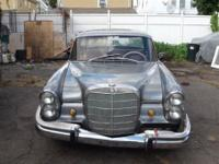 This 1965 Mercedes-Benz 230s 230s Sedan features a