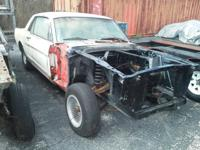 1965 Mustang A code coupe parts or task vehicle. Was a