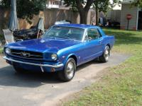 This is a very early 1965 Mustang. I have the original