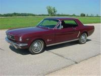 1965 Mustang Coupe. Excellent restoration on a Kansas