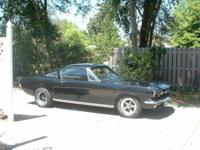 triple black custom 65 mustang fastback new everything