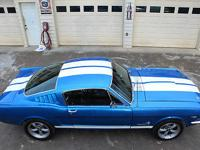 Condition: Used Exterior color: SHELBY BLUE WITH WHITE