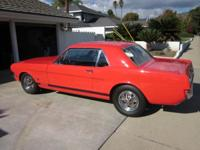 65 MUSTANG GT COUPE (A REAL FACTORY BUILT GT). IN